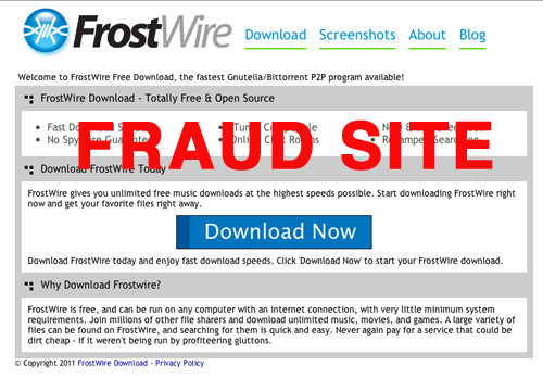 Paid for FrostWire? Don't get Scammed – FrostWire is 100