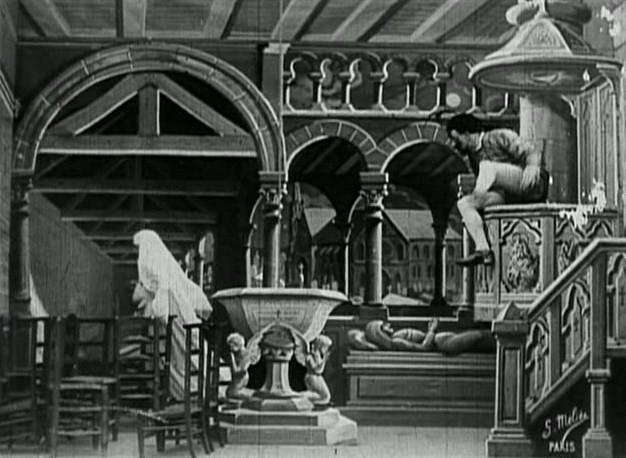 Le diable au couvent
